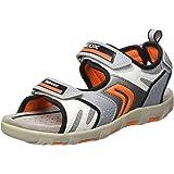 Geox Jr Sandal Pianeta B, chaussures à bouts ouverts garçon