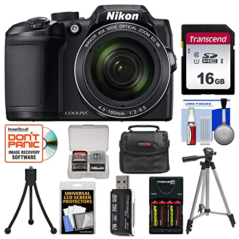 Amazon.com: Nikon Coolpix B500 - Cámara digital Wi-Fi con ...