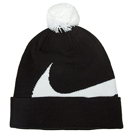 watch c304e f35f5 Nike Unisex s SSNL Beanie, Black White, One Size