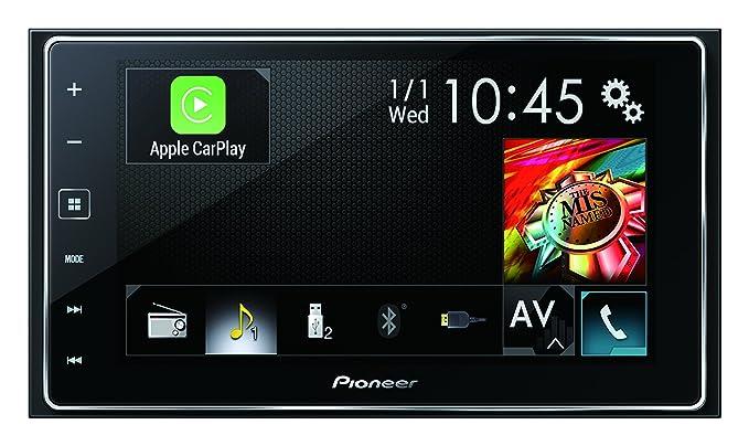 Pioneer Apple Carplay Stereo Amazon Co Uk Car Motorbike