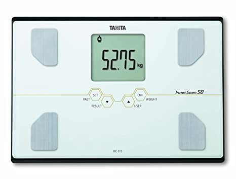 Tanita BC 313 Analizador de la composición corporal con pesaje de precisión ultra de 50 g