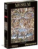Clementoni - 39250.6 - Puzzle Collection High Quality - 1000 Pièces - Le Jugement Dernier - Michel-Ange
