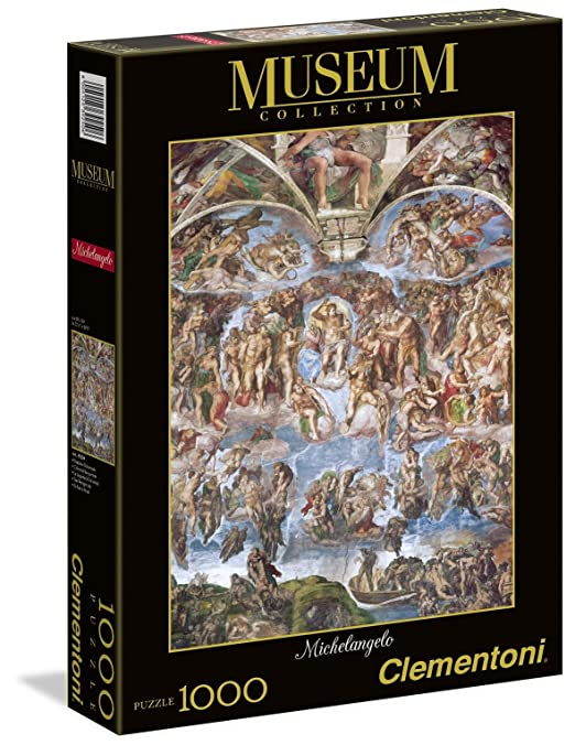 136 opinioni per Clementoni 39250- Puzzle Museum Michelangelo G.U., 1000 pezzi