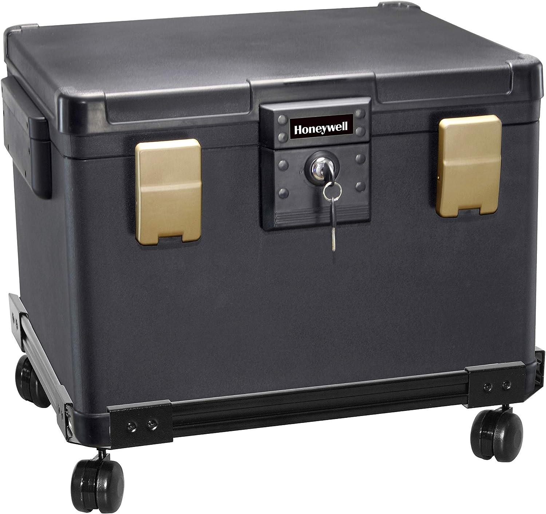 Honeywell Safes & Door Locks 1112W Honeywell Safe Box, Black
