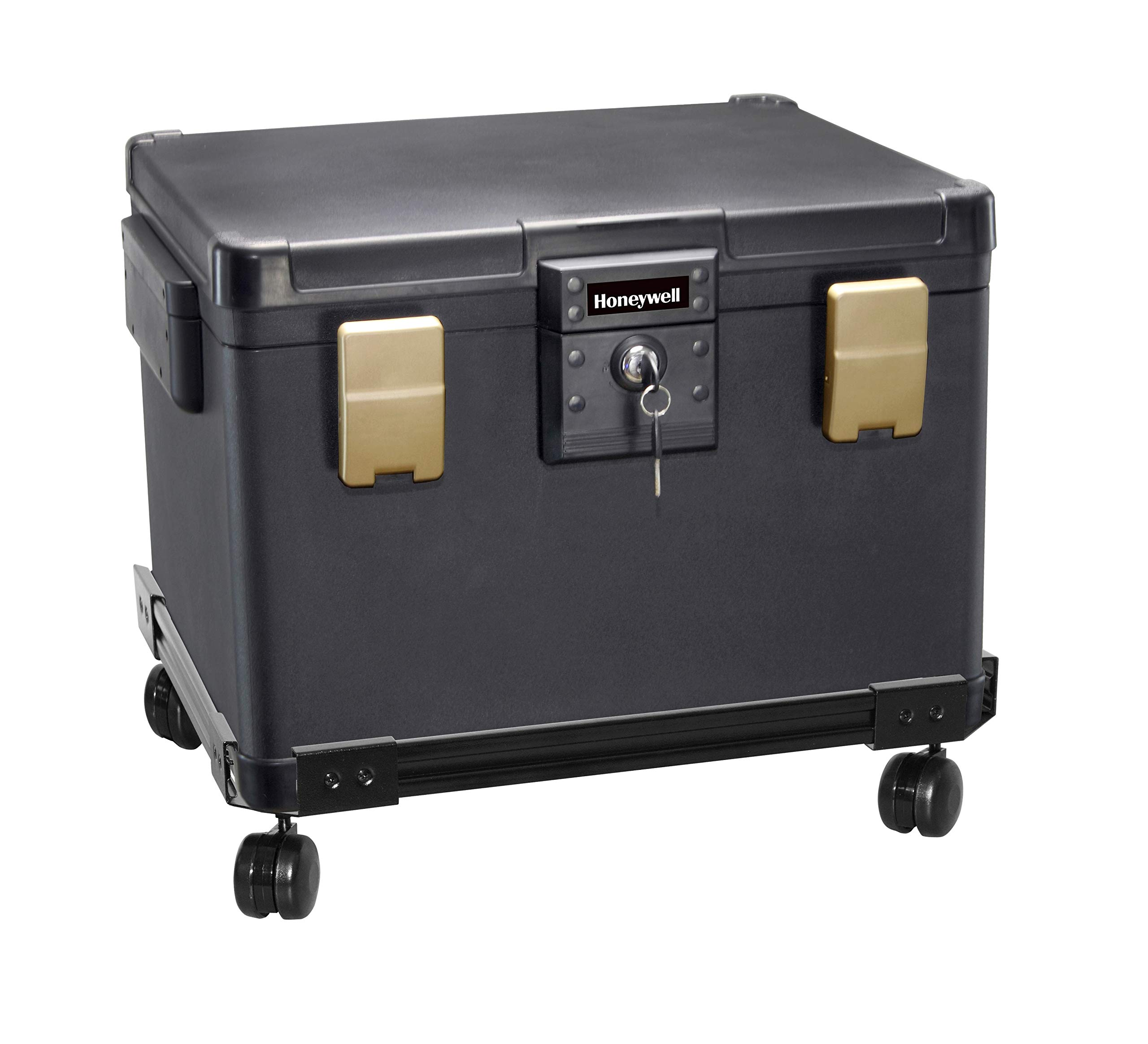Honeywell Safes & Door Locks 1112W Honeywell Safe Box, Black by Honeywell Safes & Door Locks