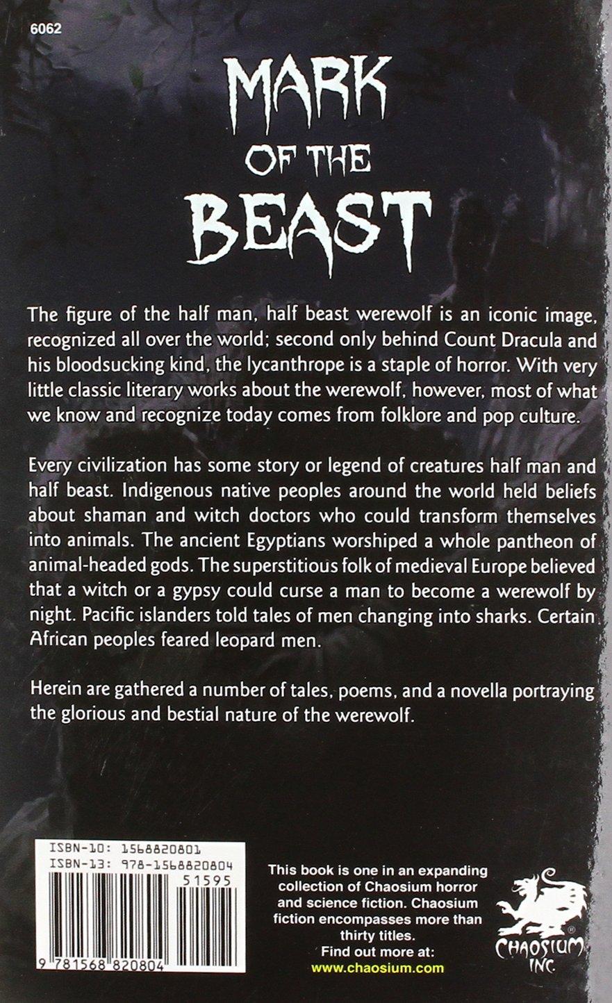 Mark of the Beast: Scott David Aniolowski: 9781568820804
