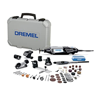 Dremel 4000-6/50-FF High Performance Rotary Tool Kit with Flex Shaft- 6 Attachments & 50 Accessories- Grinder, Sander, Polisher, and Engraver- Perfect for Routing, Cutting, Wood Carving, and Polishing