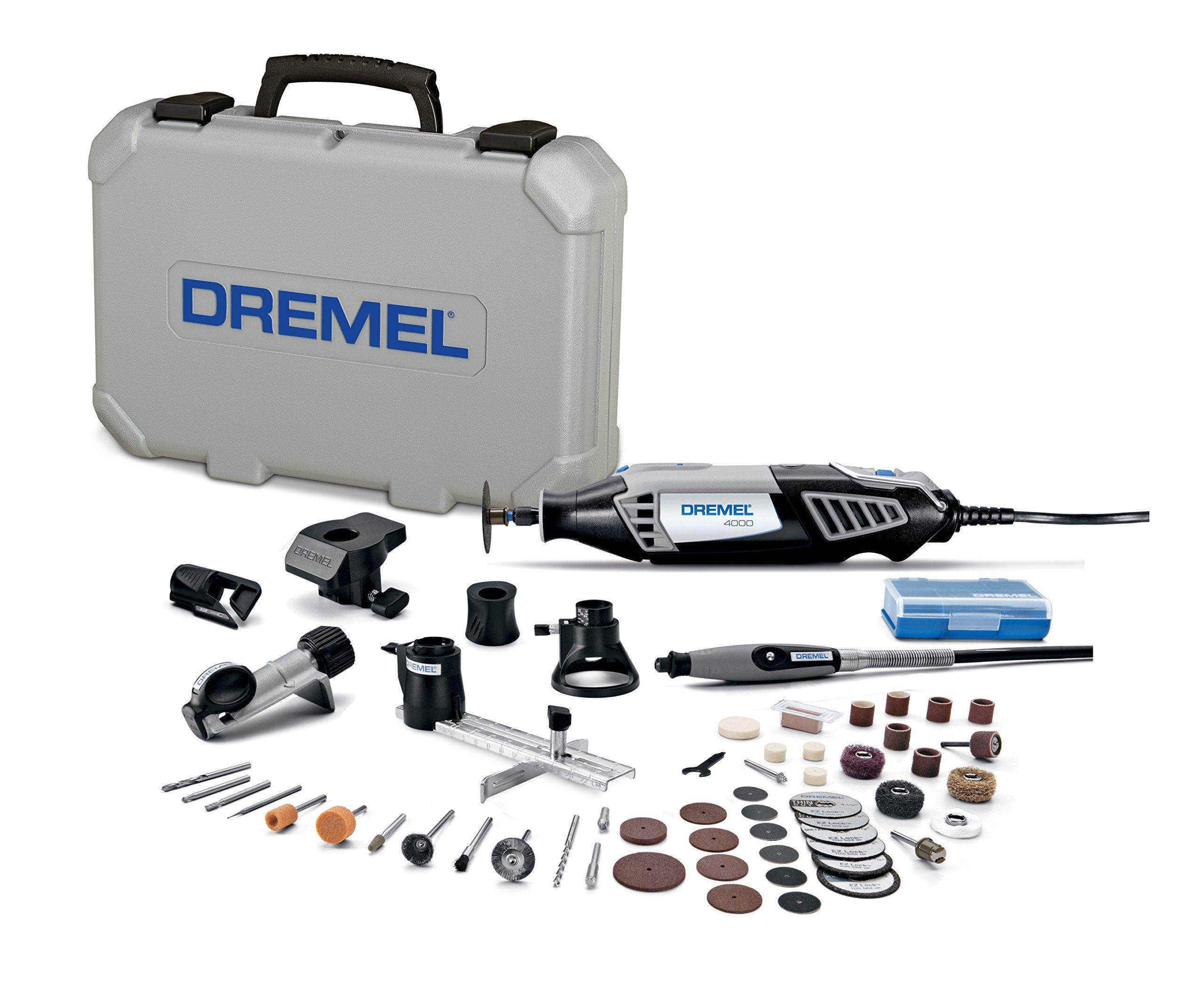 Dremel 4000-6/50-FF High Performance Rotary Tool Kit