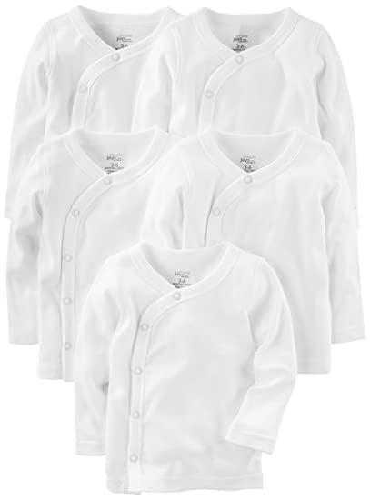 amazon simple joys by carter s baby 5 pack side snap long Billabong Long Sleeve simple joys by carter s baby 5 pack side snap long sleeve shirt