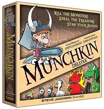 Munchkin, Deluxe, Board Games - Amazon Canada