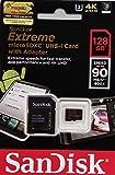 SanDisk microSDXC SDSQXVF-128G Extreme U3 V30 UHS-I サンディスク
