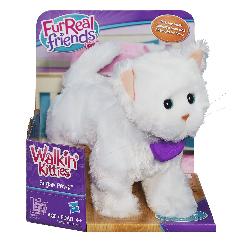 Amazon FurReal Friends Lulus Walkin Kitties Sugar Paws Pet