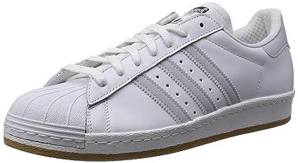 adidas Originals SUPERSTAR 80s REFLECTIVE Scarpe Sneakers Pelle Bianco per  Uomo  Amazon.it  Sport e tempo libero c527b9d5993