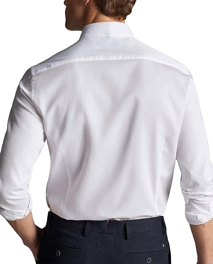 MASSIMO DUTTI - Camisa de algodón para Hombre (Tejido Texturizado ...