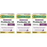 Nature's Bounty Ultra Probiotic 10, 60 Count - 3 Pack