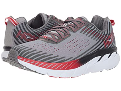 info for 092f2 69031 HOKA ONE ONE Men's Clifton 5 Running Shoe Alloy/Steel Grey Size 14 M US