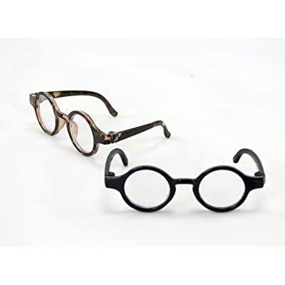 """Two Pairs of Tortoise Shell Glasses 