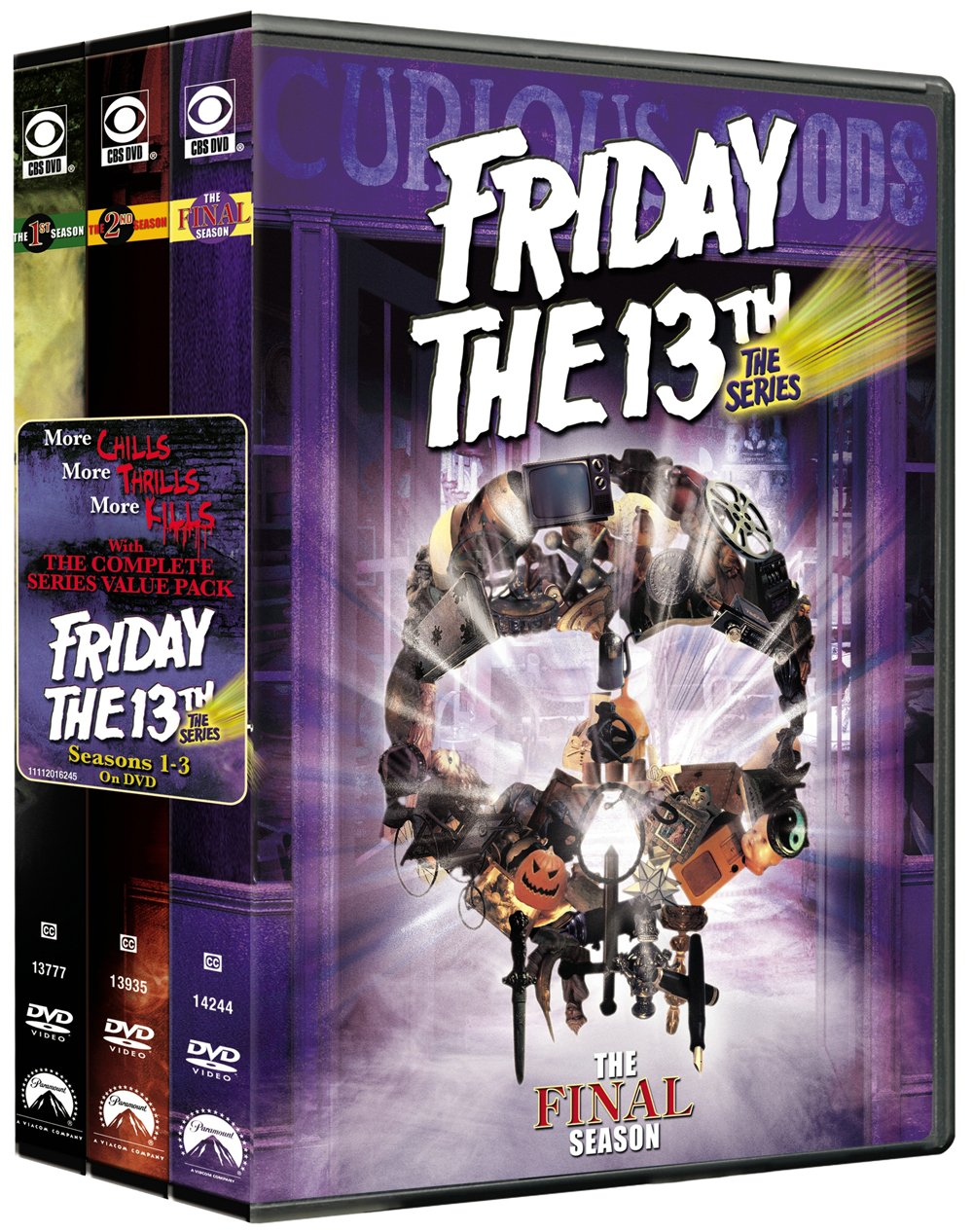 Friday the 13th the Series: Complete Series Pack DVD: Amazon.es: Cine y Series TV