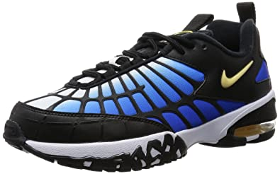 b790dc00e81 Nike AIR MAX 120 Mens Football-Shoes 819857-400 10 - Hyper Blue Chamois- Black-White  Buy Online at Low Prices in India - Amazon.in