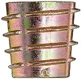 E-Z Lok Threaded Insert, Zinc, Hex-Flush, M8-1.25