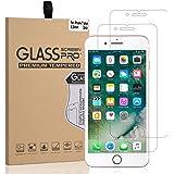 iPhone 7 Plus 8 Plus Screen Protector Glass Arae Tempered Glass [2.5D Edge] Screen Protector [Case Friendly] for Apple iPhone 7 Plus 8 Plus (2-Pack)