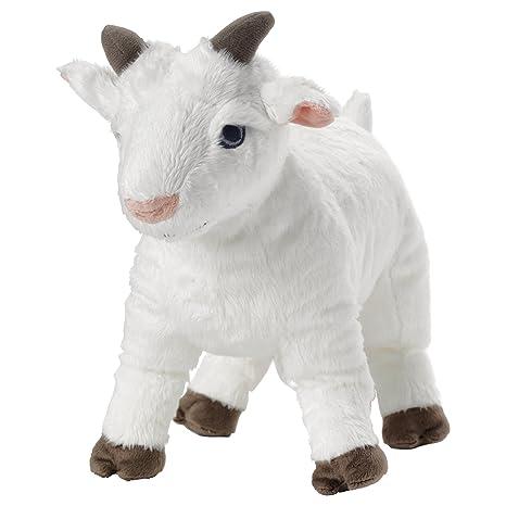 Amazon Com Ikea Lappget White Plush Soft Toy Goat Stuffed Animal