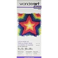 Spinrite Wonderart Shaggy Kit de ganchillo, diseño de perro, estrella, 1
