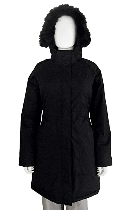 Amazon.com: The North Face Women's Arctic Parka Jacket TNF Black ...