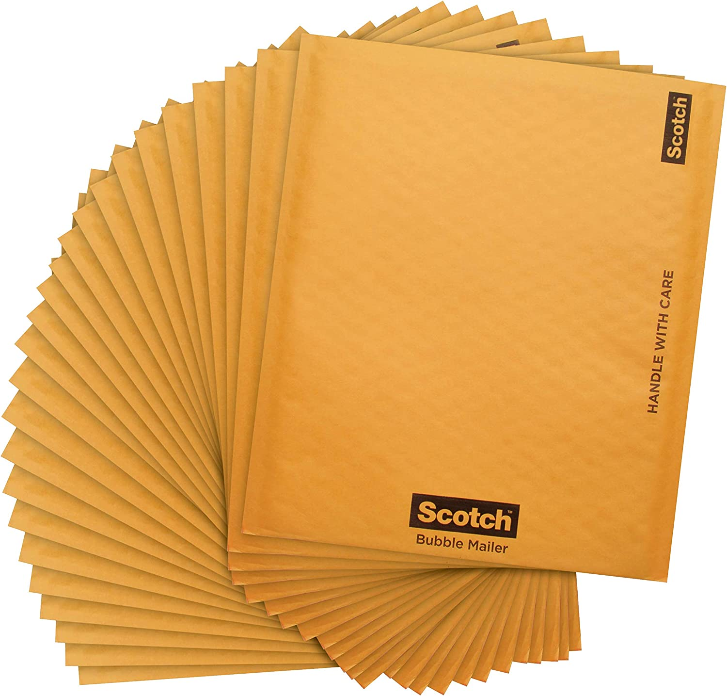 "New 500 #000 4/""x7/"" KRAFT BUBBLE MAILERS PADDED ENVELOPE"
