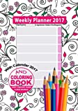 Weekly Planner 2017 & Sweary Word Coloring Book with Calendar 2017 for Appointments, Schedules & Time Management: Stress Relief Coloring Notebook & ... in One: Volume 4 (2017 Weekly Planners)