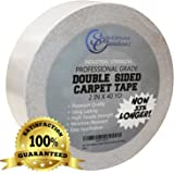 Sugarman Creations Industrial Grade Double Sided Carpet Tape, 2-Inch-by-40-Yard, 120 feet