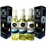 3 Frascos de Aceite Rosa Mosqueta Puro y 100% natural 60 ML
