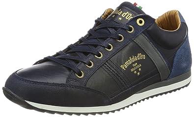 Pantofola DORO Herren Savio Romagna Uomo Low Sneaker, Blau (Dress Blues), 46 EU Pantofola D'oro