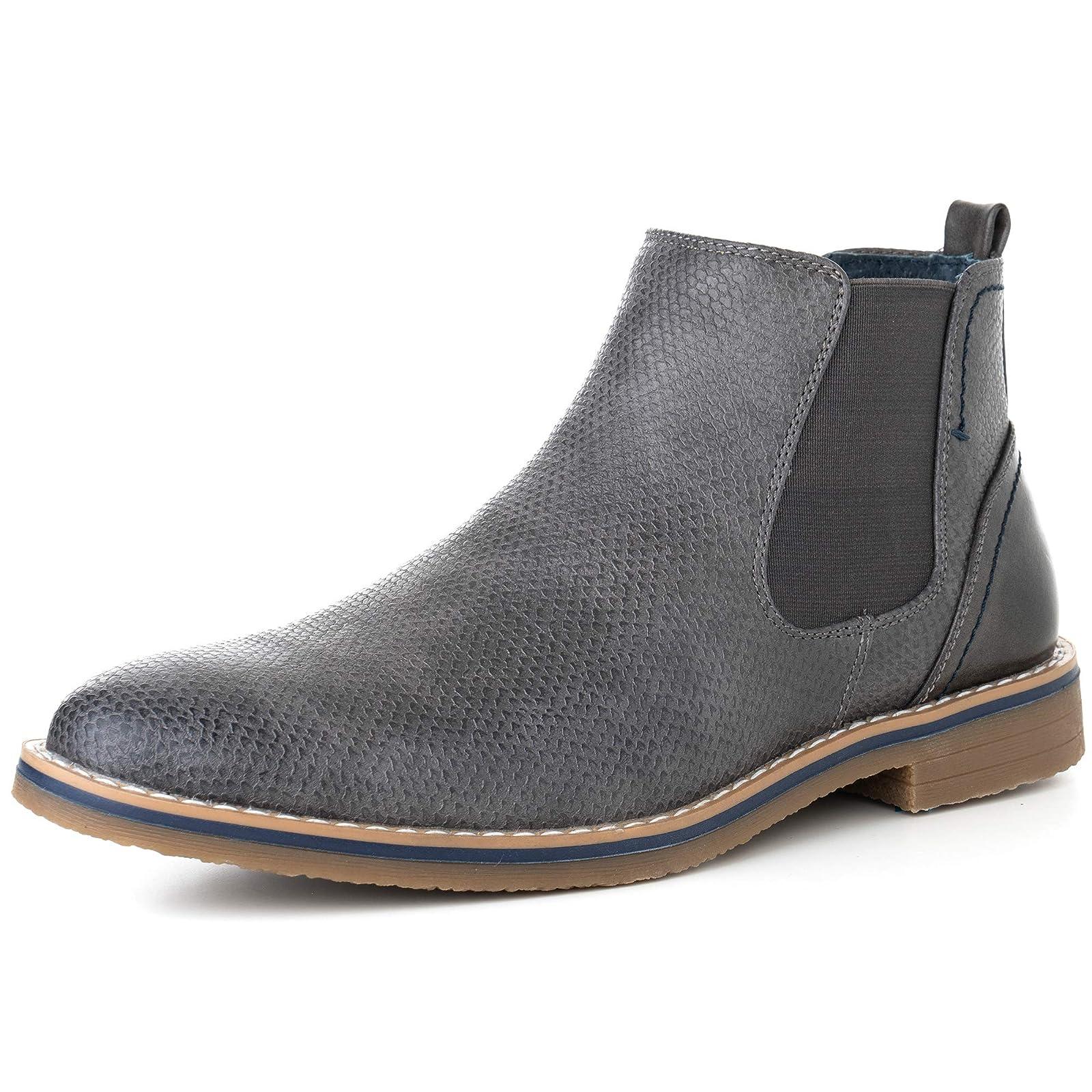 alpine swiss Men's Nash Chelsea Boots By Alpine Swiss - 1