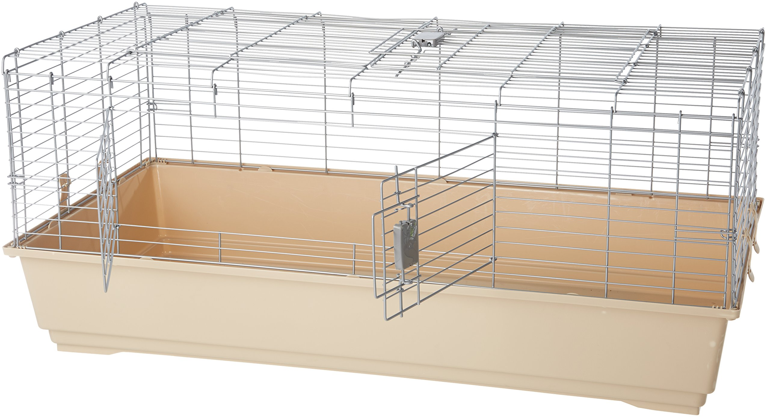 AmazonBasics Small Animal Cage Habitat With Accessories 4