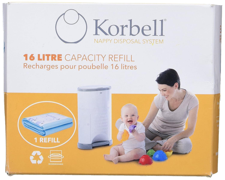 Korbell Folien Nachfüllpack für Windeleimer Korbell 3 Stück NEU