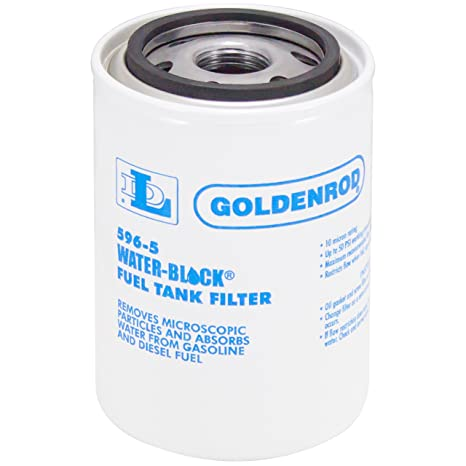 Amazon.com: GOLDENROD (596-5) Fuel Tank Filter Replacet Water ...