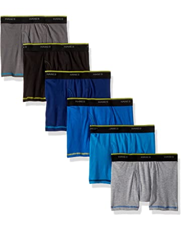 241dae0cb7d41 Hanes Boys  Cool Comfort Breathable Mesh Boxer Brief 6-Pack