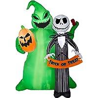 Disney 6.49Ft Lighted Jack Skellington Halloween Inflatable