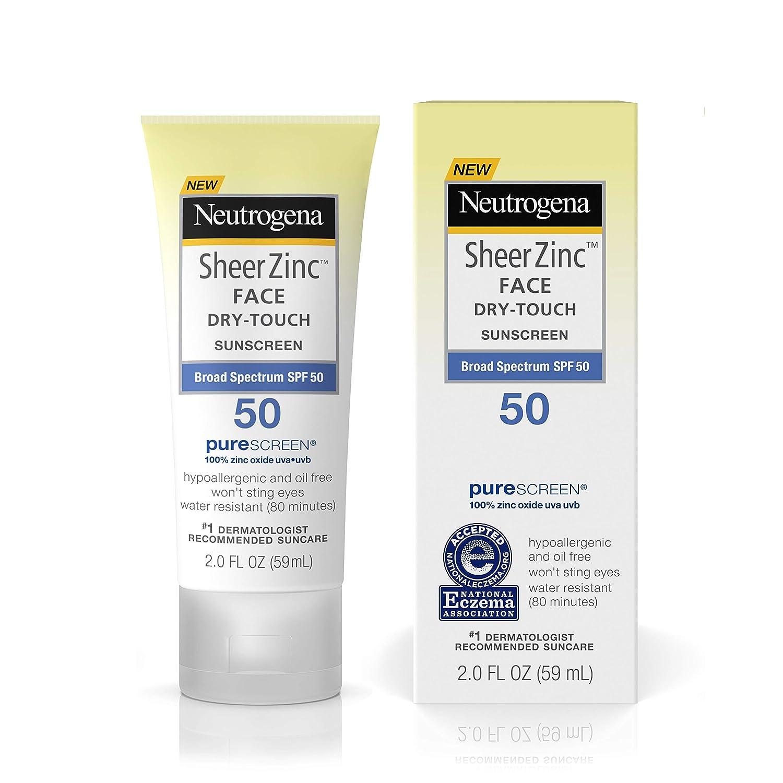 oil free sunscreen spf 50
