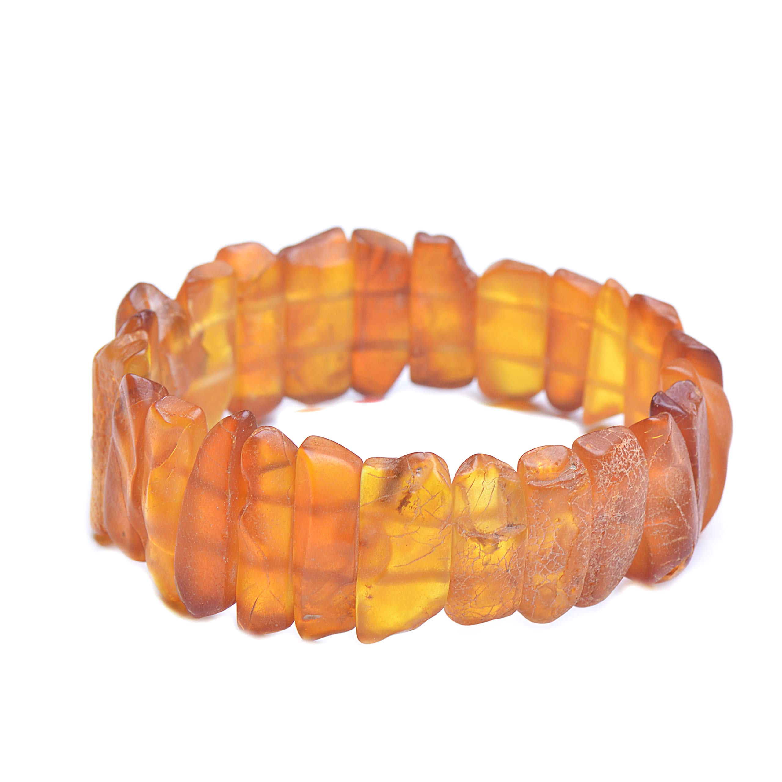 Amber Bracelet - Unique Amber Bracelet - Exclusive Amber Bracelet - Vintage Bracelet - Genuine Baltic Amber by Genuine Amber (Image #4)