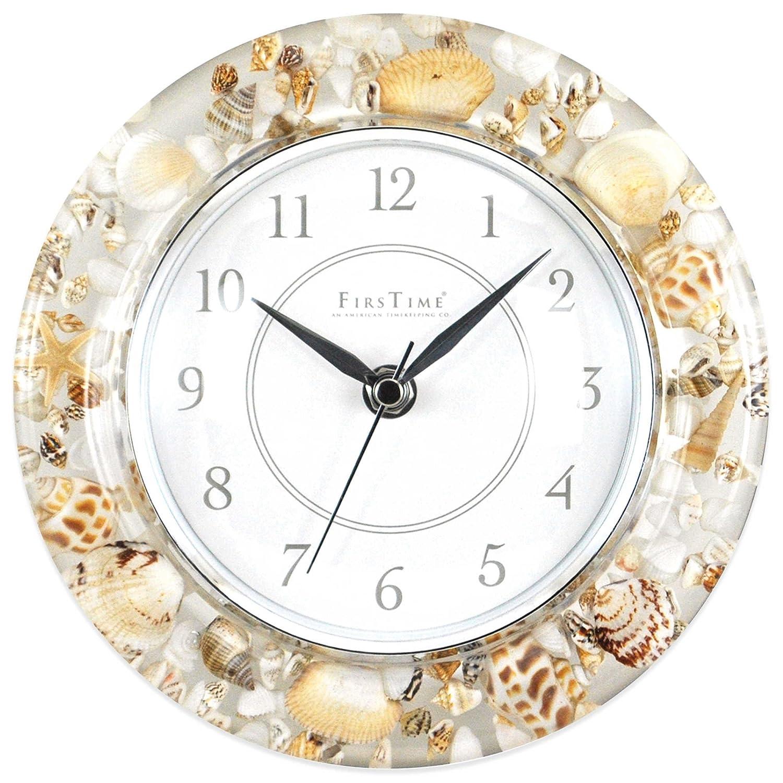 Amazoncom Beautiful Sands of Time Wall Clock Coastal Style