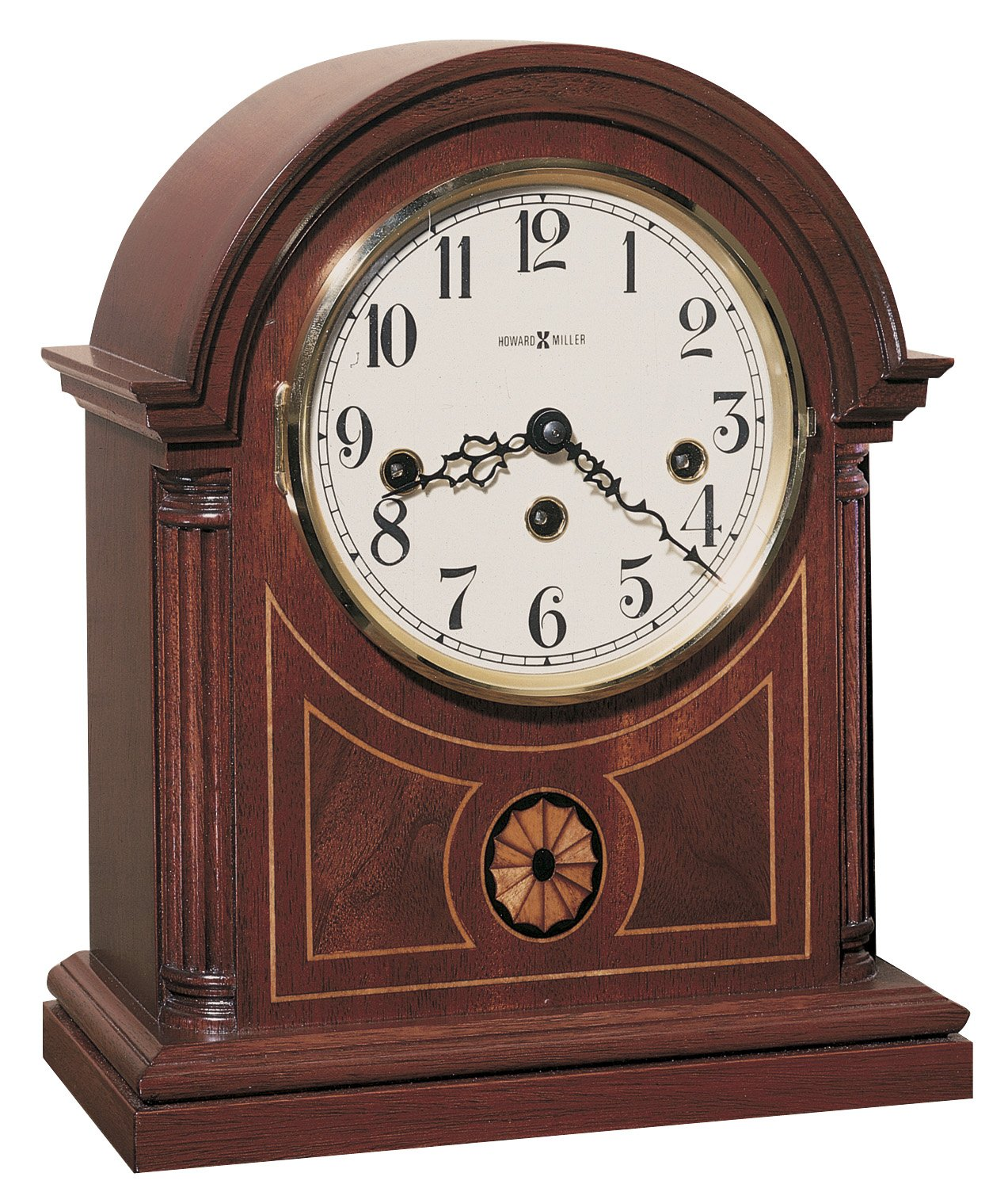 Howard Miller 613-180 Barrister Mantel Clock by Howard Miller