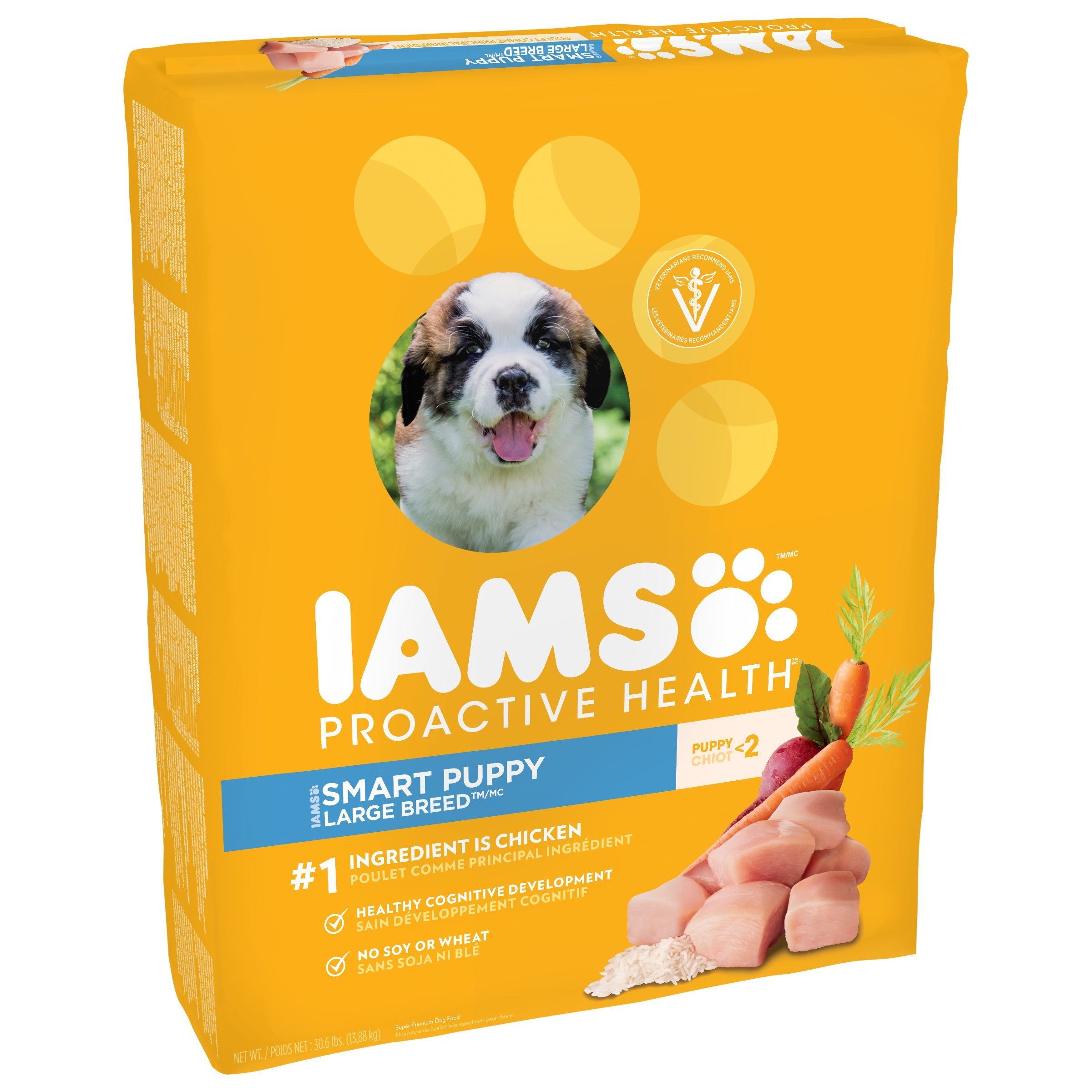 IAMS PROACTIVE HEALTH Smart Puppy Large Breed Dry Puppy ...