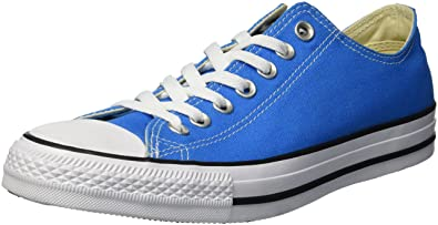 Converse Chuck Taylor All Star 2018 Seasonal Low Top Sneaker Blue Hero 5 M  US a20dcac10