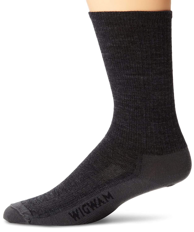 Wigwam Men's Merino Airlite Pro Socks, Charcoal, Large Wigwam Men' s Socks F6003