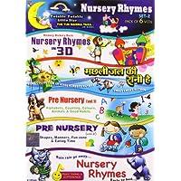 Nursery Rhymes (Set 2) Pack of 6 VCD