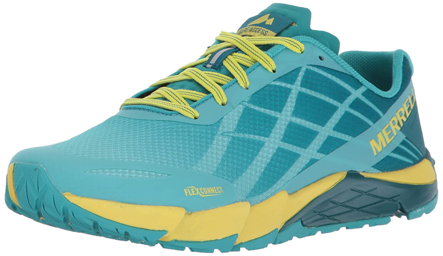 Merrell Women's Bare Access Flex Trail Runner B01MU0UIX5 8.5 B(M) US|Aruba Blue