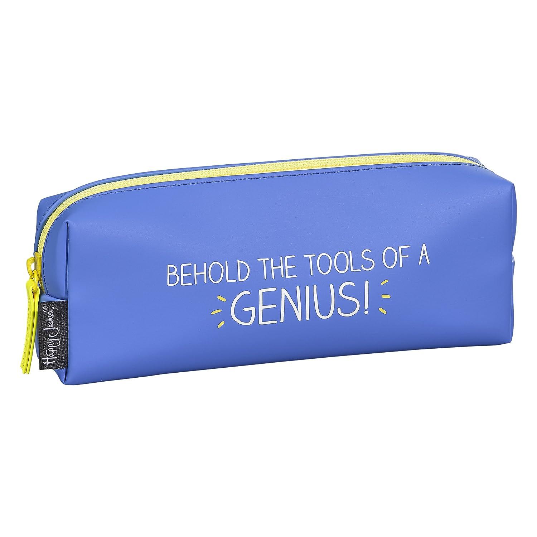color azul Estuche para l/ápices Happy Jackson HAP575 Behold The Tools Of A Genius acabado mate