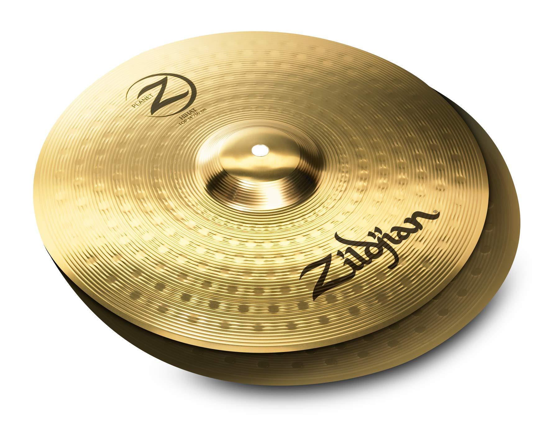 Zildjian Planet Z 4 Cymbal Set (14'' pr, 16'', 20'') by Avedis Zildjian Company (Image #2)